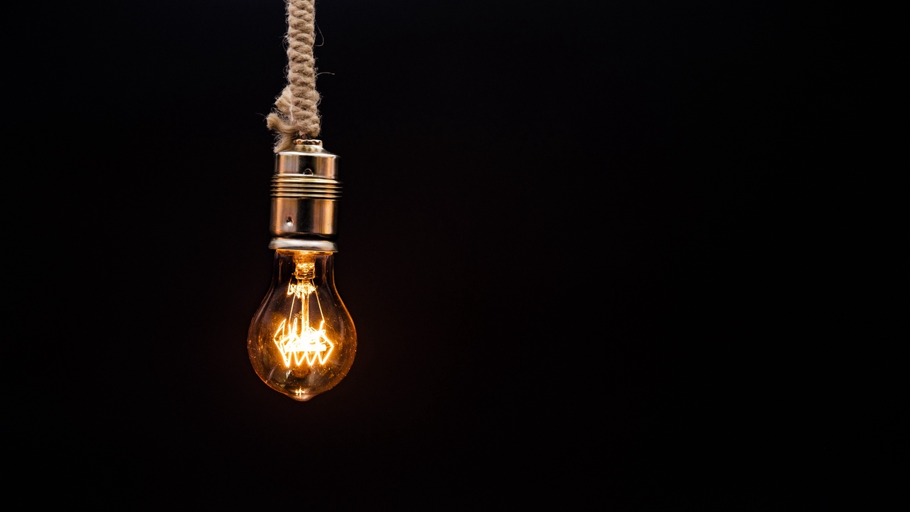 bulb, lighting, rope, electricity, edisons lamp
