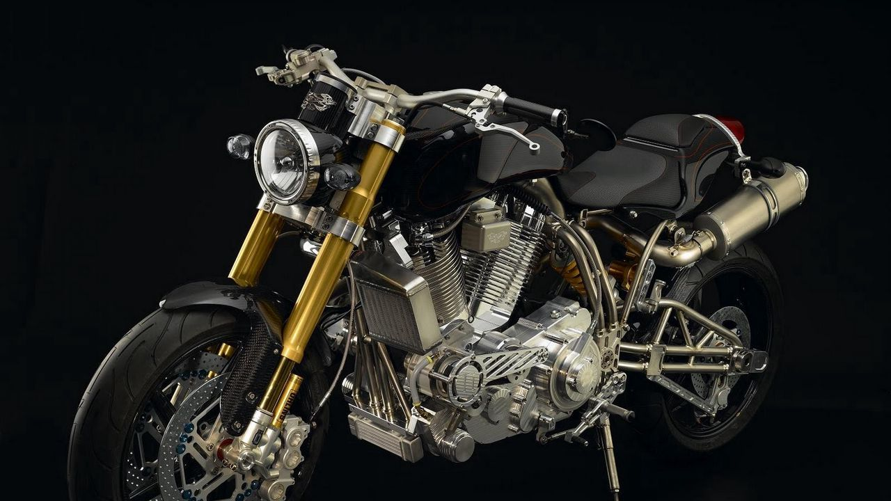 ecosse heretic titanium, ecosse moto works, motorcycle, the most expensive motorcycle in the world