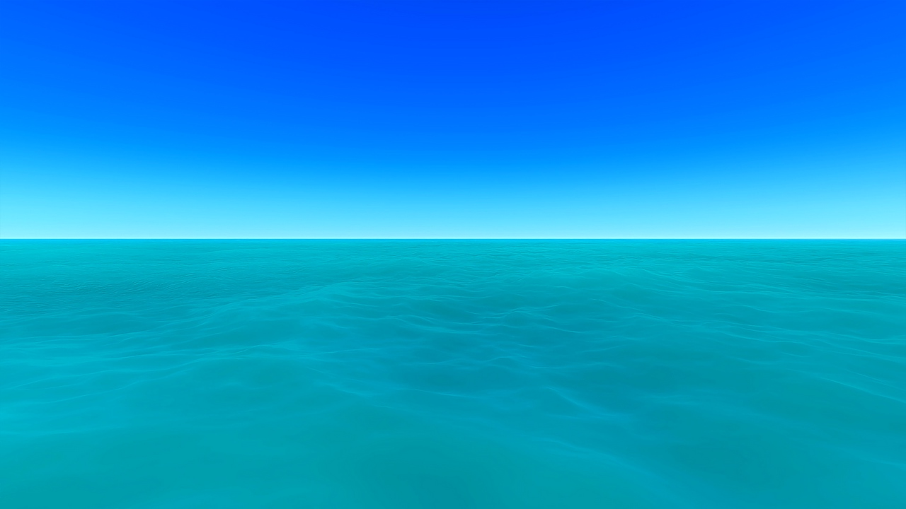 sea, horizon, art, sky, water