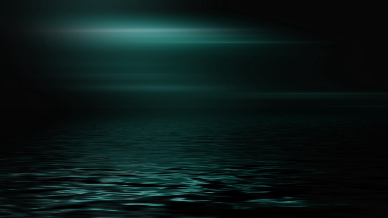 sea, horizon, dark, minimalism, brilliance
