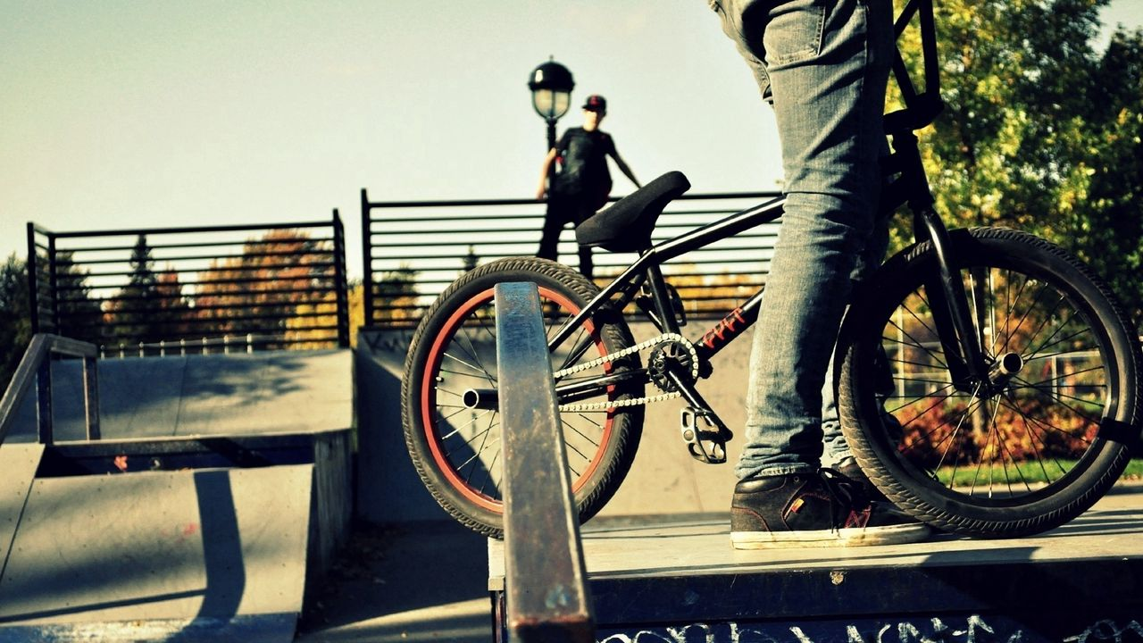 sports, people, bmx, bike