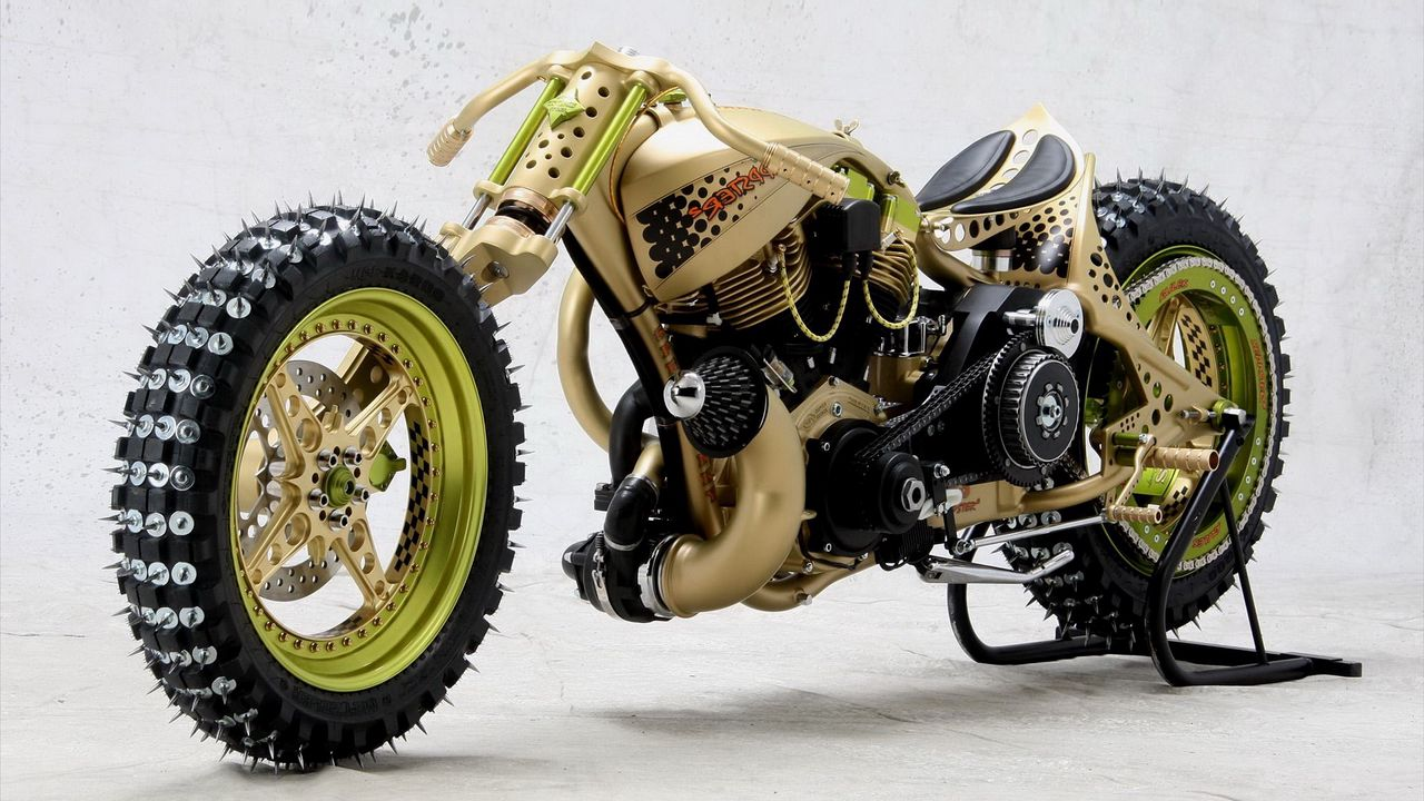 tgs seppster, ice racer, motorcycle, germany